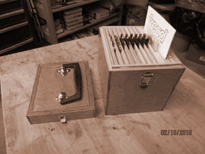 Dado blade box project