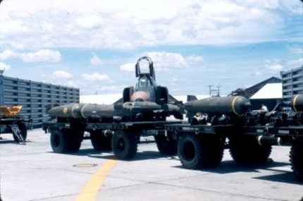 Arming F-4 with Antipersonnel Bombs
