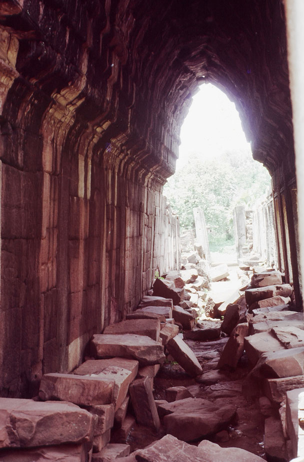Rubble Filled Corridor