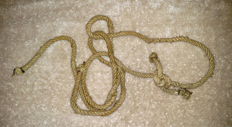 Length of Worn Rope